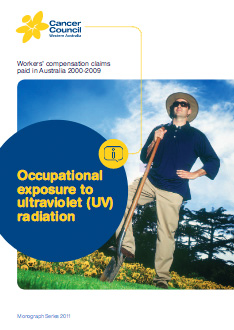Occupational exposure to ultraviolet (UV) radiation: Workers' compensation claims paid in Australia 2000-2009