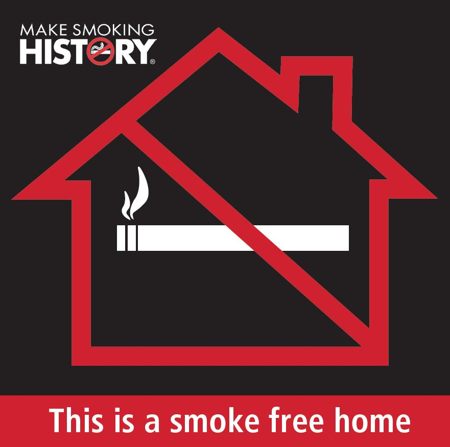 This is a smoke free home