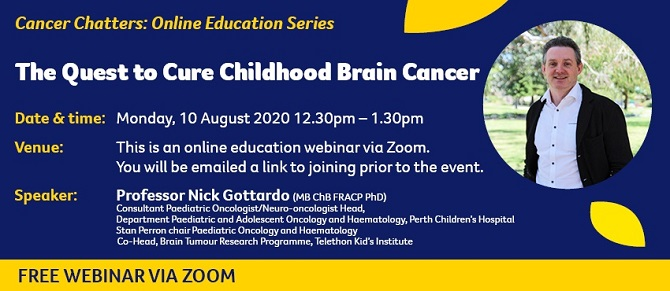 Cancer Chatters: Online Education Series