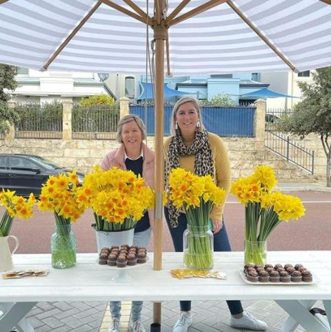 Realmark Coastal sold flowers and cakes to raise funds for our Daffodil Day Appeal.